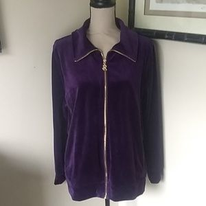 Ralph Lauren velour jacket XL